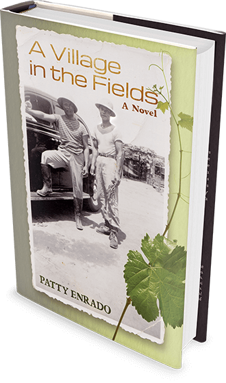 A Village in the Fields hardcover book