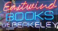 Eastwind Books of Berkeley neon sign