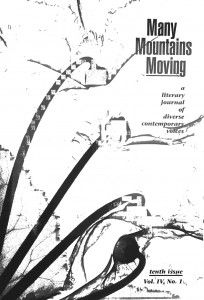 Many Mountains Moving journal cover