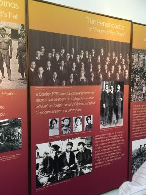 One of the first group of immigrants to come to America were the pensionados.