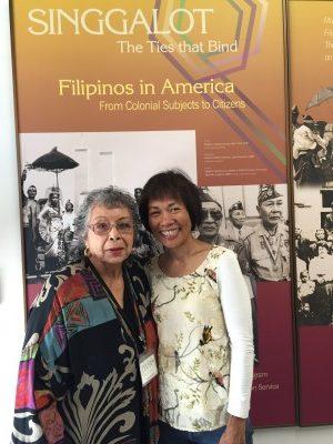 Anita Bautista and me.