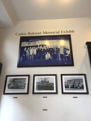 More historic photos in the Carlos Bulosan Museum Exhibit at the Eastern Hotel.