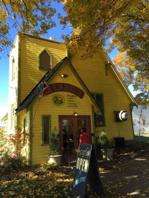 If you find yourself in Ellensburg, Wash., eating a meal at the Yellow Church Cafe is a must-do.